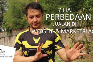 Perbedaan Jualan Di Website Dan Marketplace
